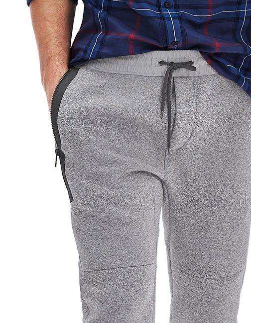 Banana Republic Seamed Knit Jogger Pant In Gray For Men