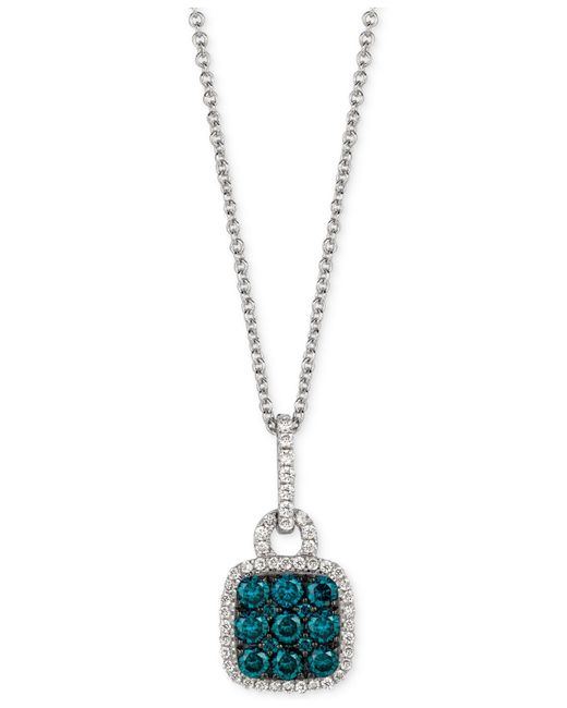 Le Vian | Green Exotics® Diamond Pendant Necklace (1/2 Ct. T.w.) In 14k White Gold | Lyst