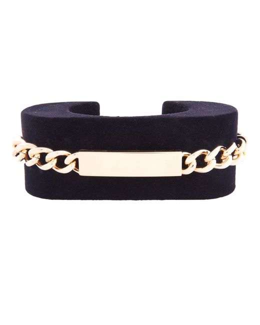 Maison Margiela | Black Chain Detail Cuff | Lyst