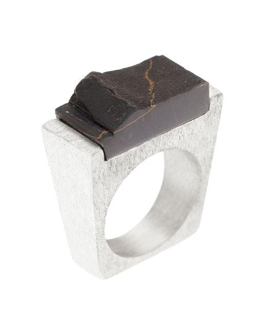 Pasionae | Metallic Lava Ring | Lyst