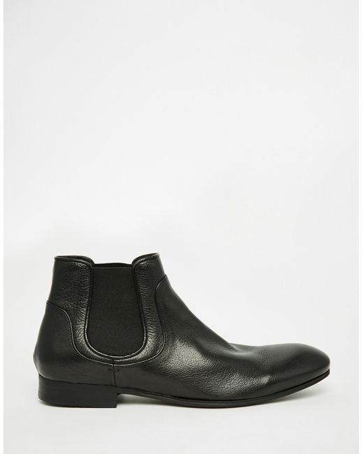 h by hudson henley chelsea boots in black for men lyst. Black Bedroom Furniture Sets. Home Design Ideas