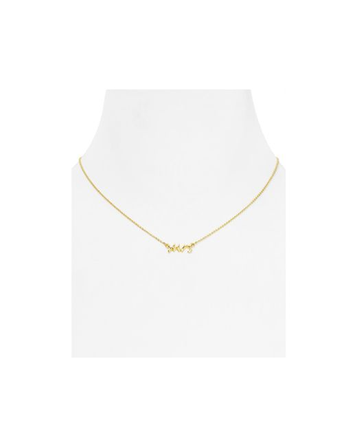 Kate Spade | Metallic Say Yes Mrs. Necklace, 16"