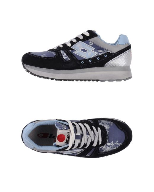 Lotto Leggenda | Blue Low-tops & Trainers | Lyst