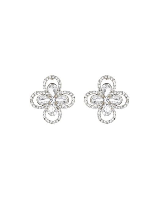 Mikey | Metallic Daisy Marquise Flower Earring | Lyst