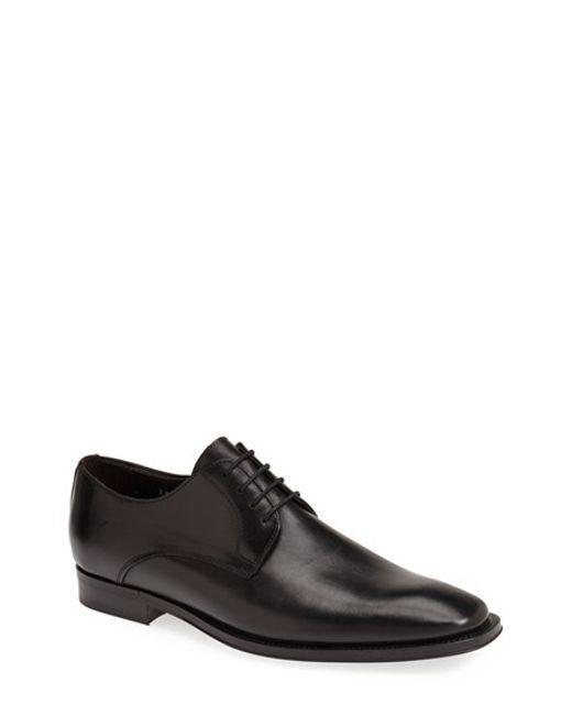 To Boot | Black 'felix' Plain Toe Derby for Men | Lyst