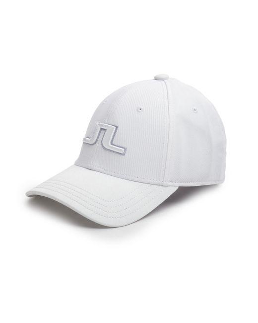 J.Lindeberg | White Banji Baseball Cap for Men | Lyst