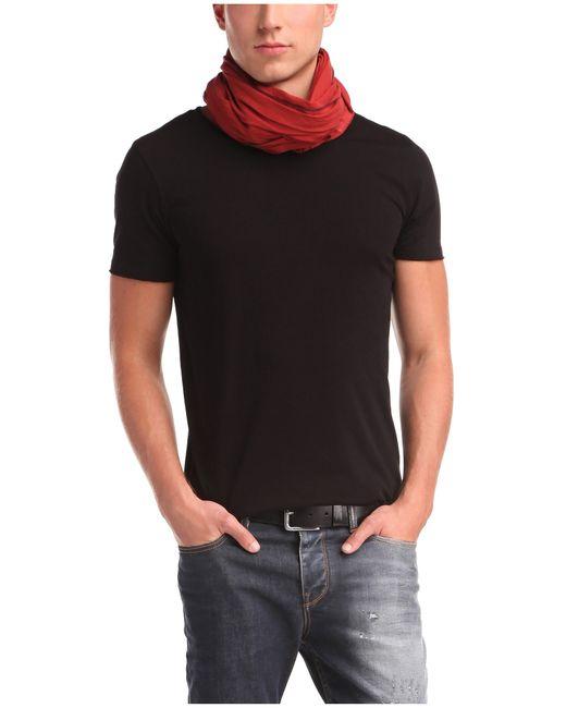 BOSS Orange | Black Regular-fit T-shirt In Pure Cotton: 'tooles' for Men | Lyst