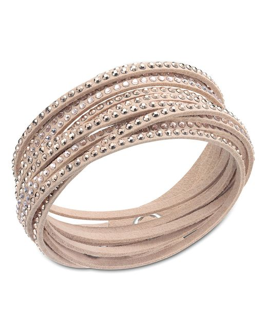 Swarovski | Natural Slake Bracelet | Lyst