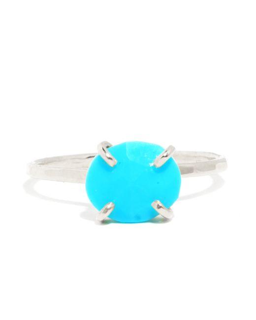 Melissa Joy Manning   Blue Turquoise Prong Set Ring   Lyst
