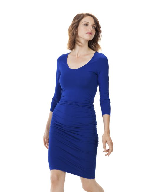 Baukjen | Blue Heath Ruched Dress | Lyst
