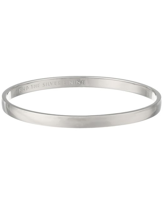 kate spade new york | Metallic Idiom Bangles Find The Lining - Solid | Lyst