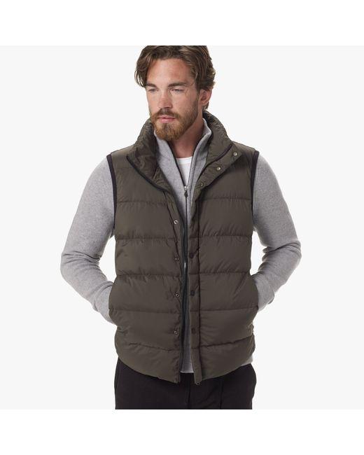 James Perse   Green Yosemite Matte Nylon Puffer Vest for Men   Lyst
