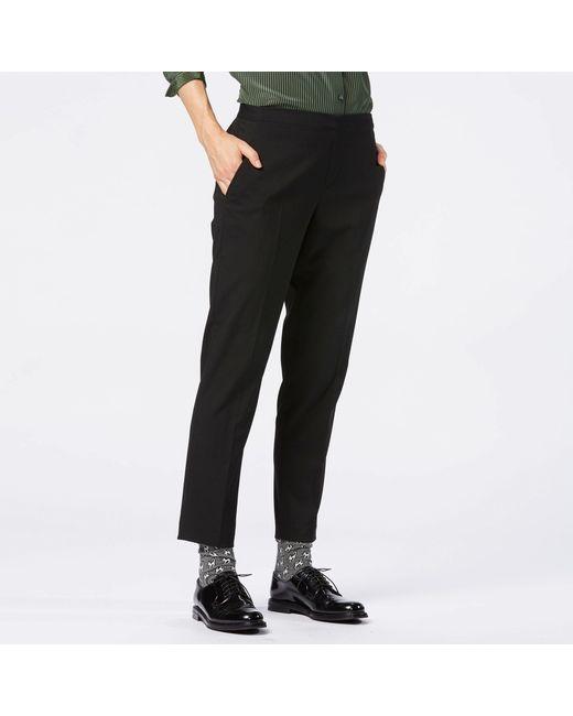New Women39s Ankle Length Pants BLACK Large