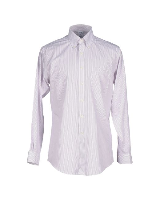 Brooks Brothers | Purple Shirt for Men | Lyst