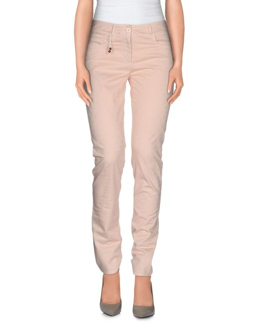 Incotex | Pink Casual Trouser | Lyst