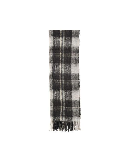 Marc By Marc Jacobs | Black Blanket Plaid Knit Scarf | Lyst