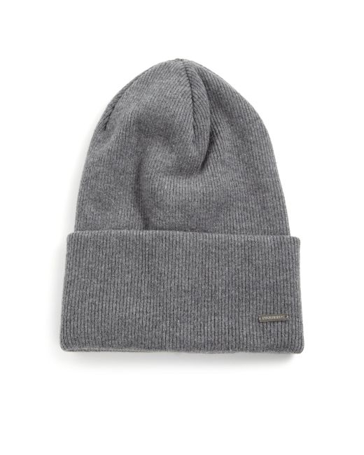 DSquared² | Gray Knit Wool Hat for Men | Lyst
