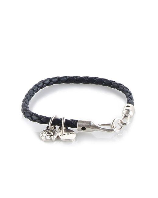 DIESEL | Metallic Asanty Bracelet | Lyst
