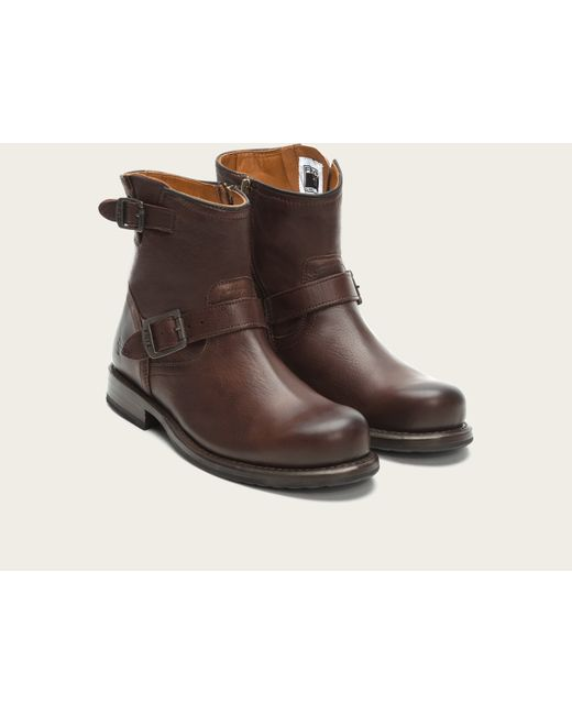 Frye | Brown Wayde Engineer Inside Zip for Men | Lyst