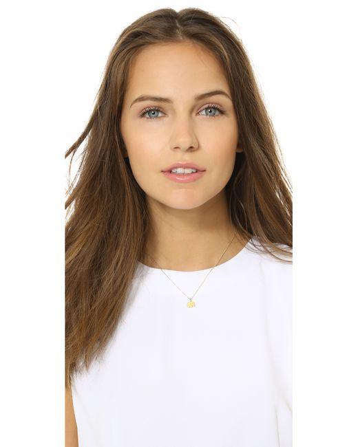 Dogeared | Metallic Good Luck Charm Necklace | Lyst