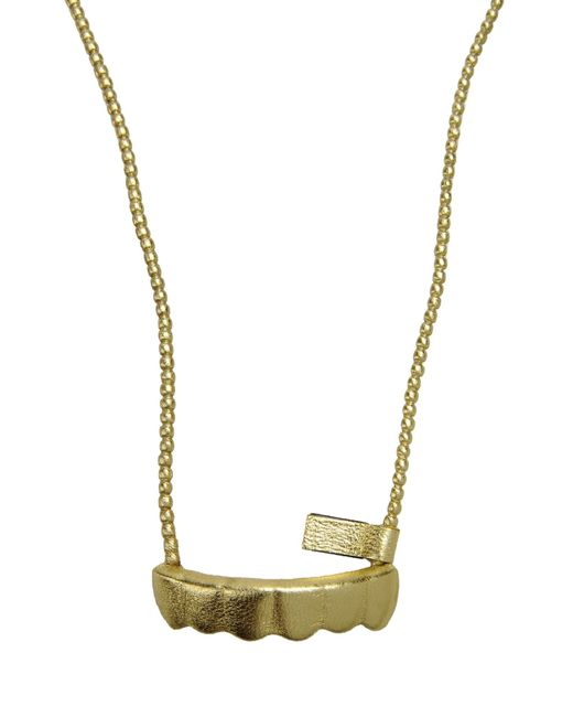 Natalia Brilli | Metallic Necklace | Lyst