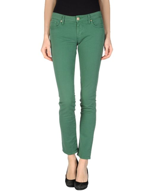 M Missoni | Green Denim Trousers | Lyst