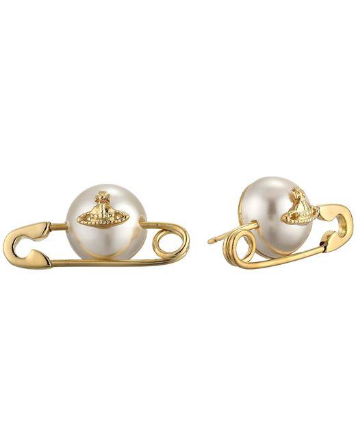 Vivienne Westwood   Metallic Jordan Earrings   Lyst