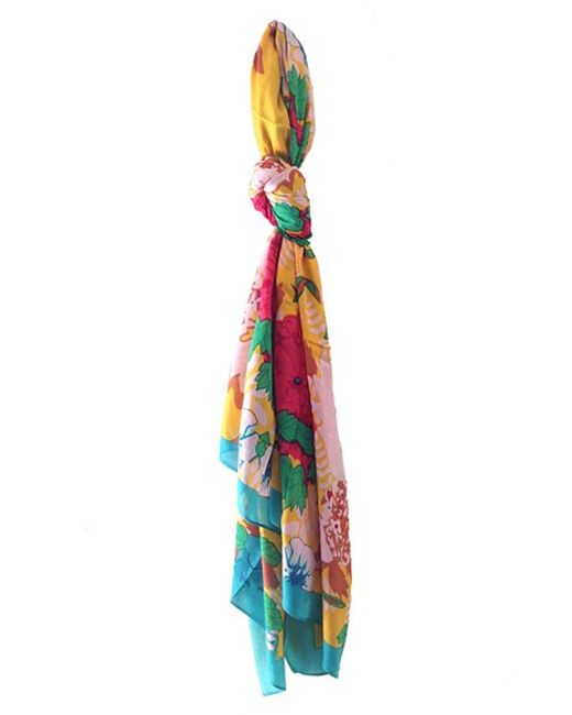 Urban Originals | Multicolor 'Vintage Garden' Scarf | Lyst