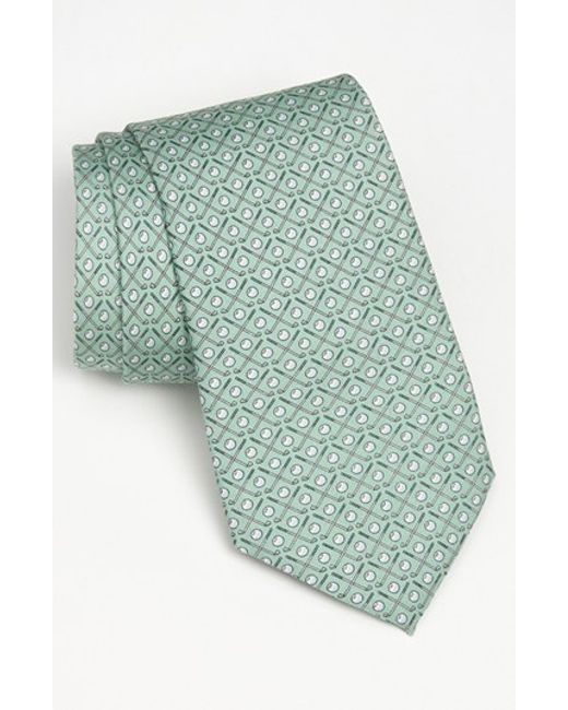 Vineyard Vines | Green 'golf Clubs' Silk Tie for Men | Lyst