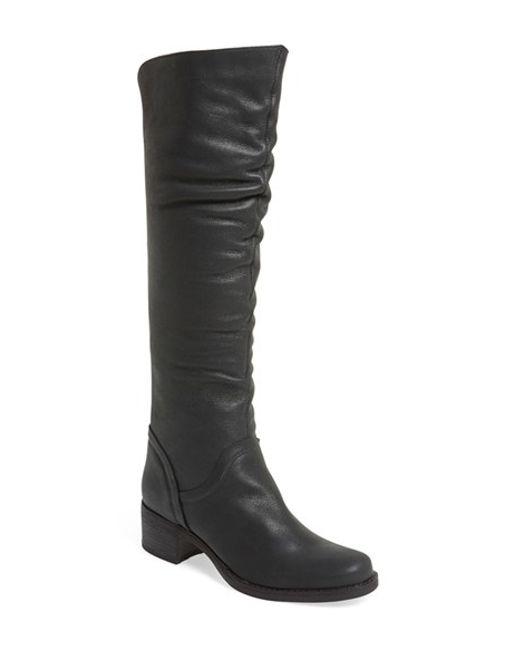 Matisse | Black 'lonestar' Slouchy Boot | Lyst