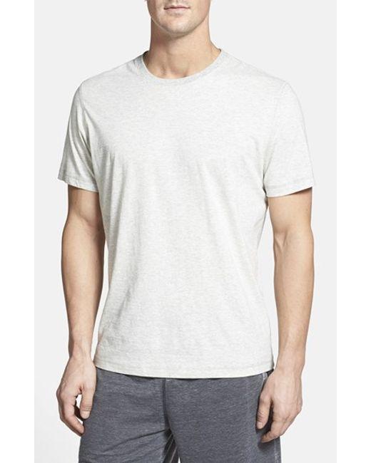 Daniel buchler peruvian pima cotton crewneck t shirt in for Peruvian cotton t shirts