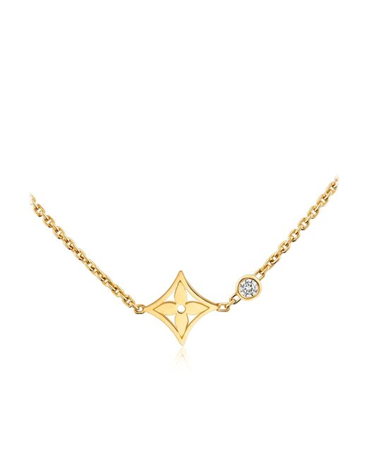 Louis Vuitton | Idylle Blossom Pendant, Yellow Gold And Diamond | Lyst