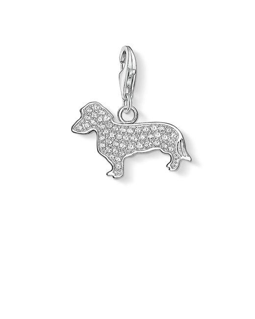 Thomas Sabo | Metallic Charm Club Dog Pendant | Lyst