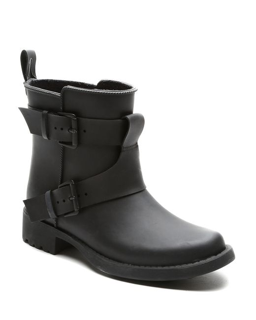 Gentle Souls | Black Best Of Round Toe Leather Ankle Boot | Lyst