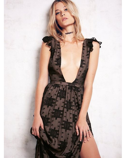 Free People | Black Ethereal Whispers | Lyst