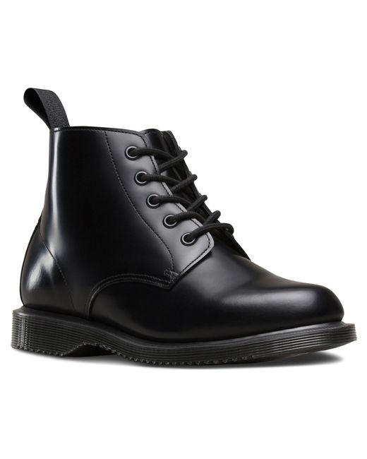 Dr. Martens | Black Emmeline Leather Ankle Boots | Lyst