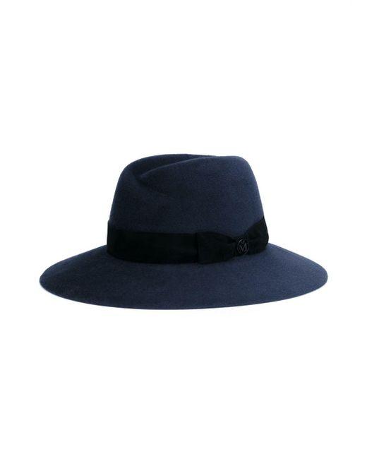 f50ef3ca85f Lyst - Maison Michel  virginie  Fedora Hat in Gray - Save 50%