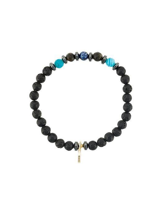 Fefe - Black Stone Bracelet - Lyst