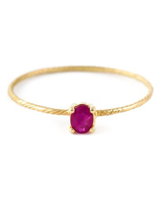 Wouters & Hendrix - Metallic 'ruby' Ring - Lyst