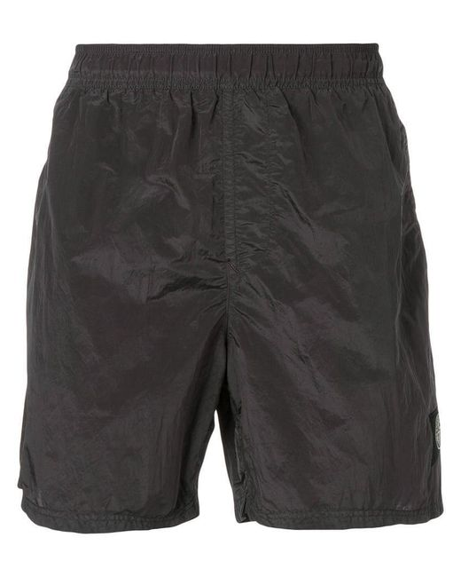 d514cff8b5 Stone Island - Gray Shell Swim Shorts for Men - Lyst ...
