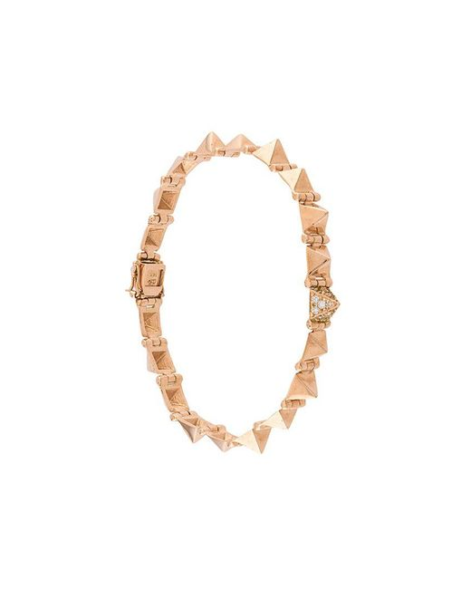 Anita Ko - Metallic Small Spike Bracelet - Lyst