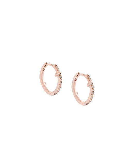 Shaun Leane | Metallic 'cherry Branch' Diamond Hoop Earrings | Lyst
