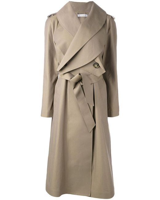 J.W. Anderson | Natural Long Belted Coat | Lyst