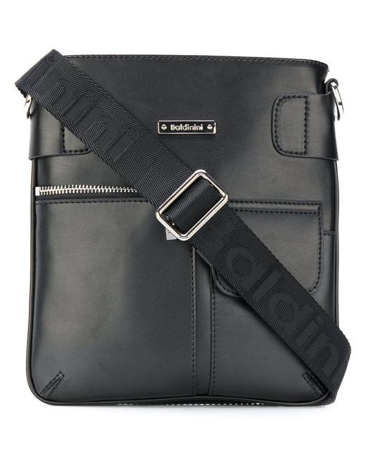Baldinini | Black Classic Messenger Bag for Men | Lyst