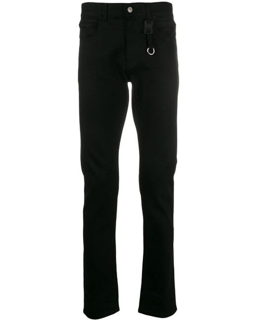 1017 ALYX 9SM Black Slim Fit Jeans for men