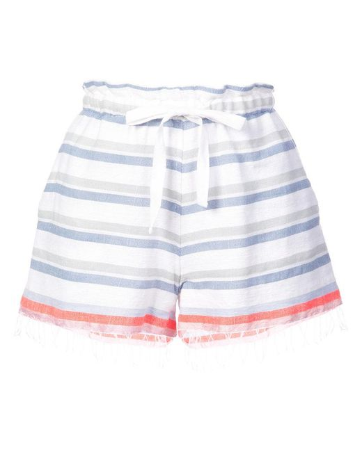 Lemlem - Blue Asha Shorts - Lyst