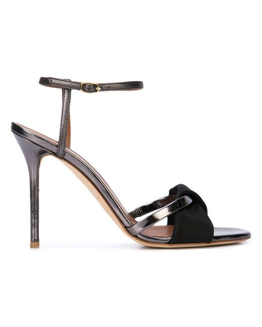 096601cc68c7 Malone Souliers - Black Ankle Strap Sandals - Lyst ...
