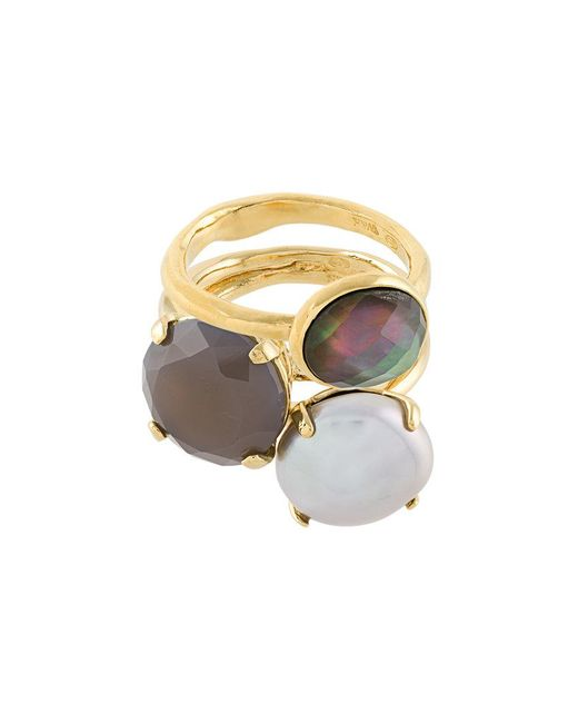 Wouters & Hendrix - Metallic My Favourite Set Of Rings - Lyst