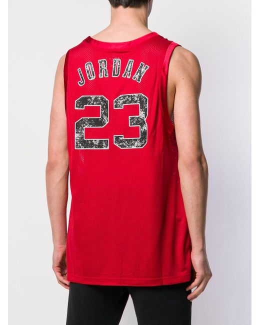 04e9ec149fb5 ... Nike - Red Jordan Dna Distorted Jersey for Men - Lyst