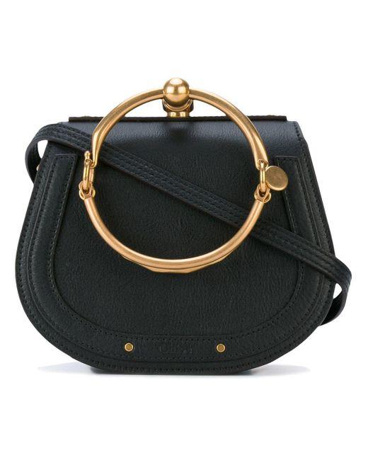 Chloé Nile Mini Bracelet Bag in het Black